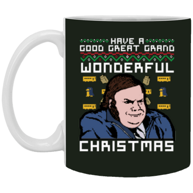 Farley Christmas White Mug 11oz (2-sided)