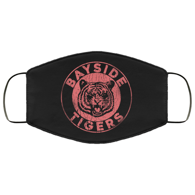 Bayside Tigers Face Mask (ear loops)