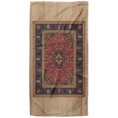 The Rug Pattern Beach Towel