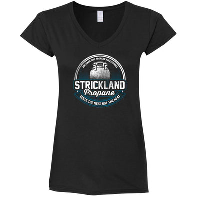 Strickland Ladies Fitted V-Neck