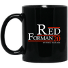 Forman 20 Black Mug 11oz (2-sided)