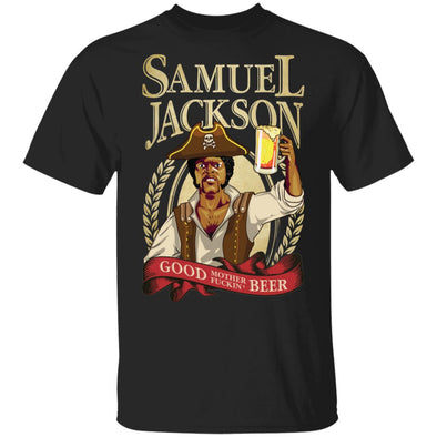Sam Jackson Beer Heavy Cotton Tee