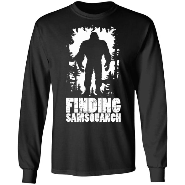 Finding Samsquanch Heavy Long Sleeve