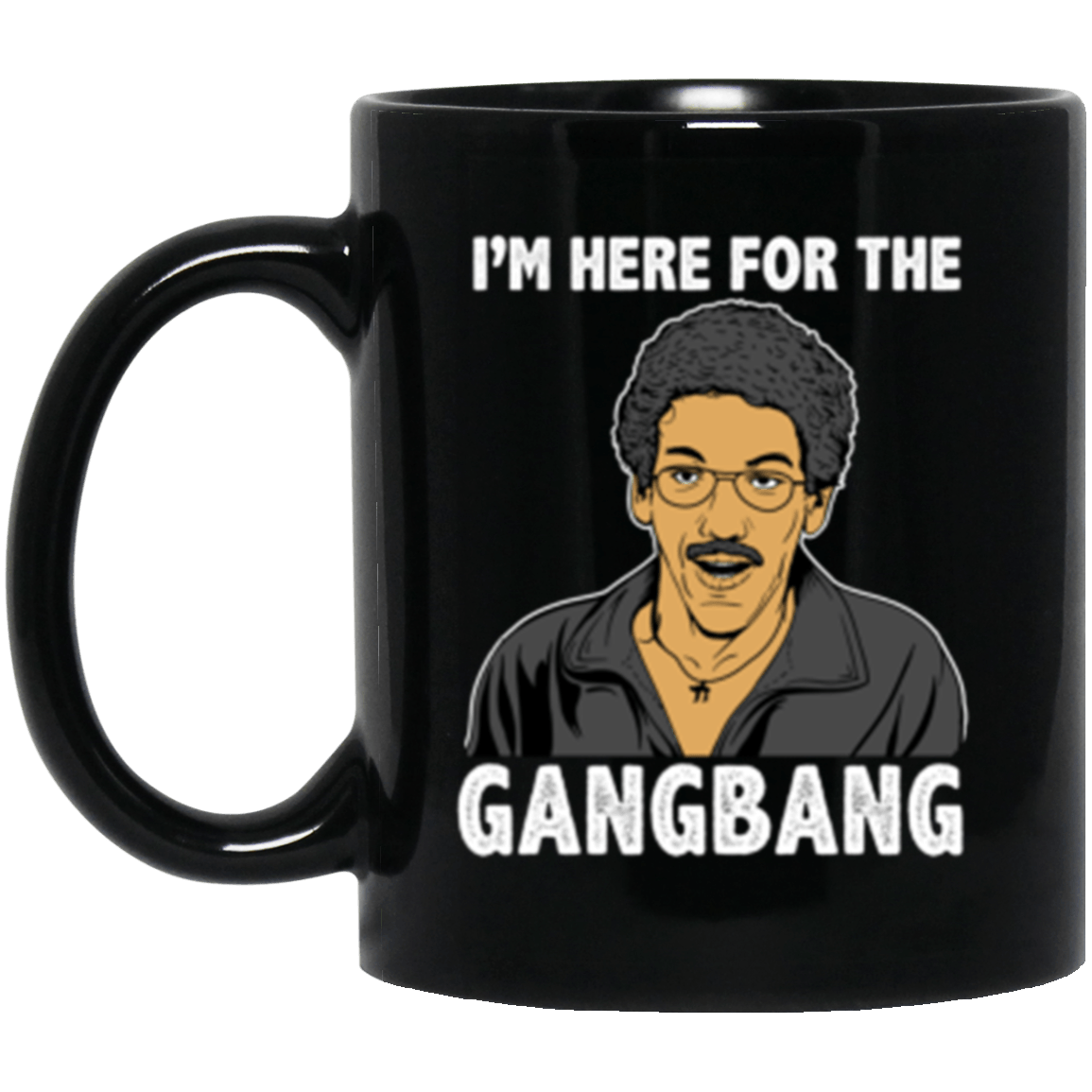 Gangbang Black Mug 11oz (2-sided)