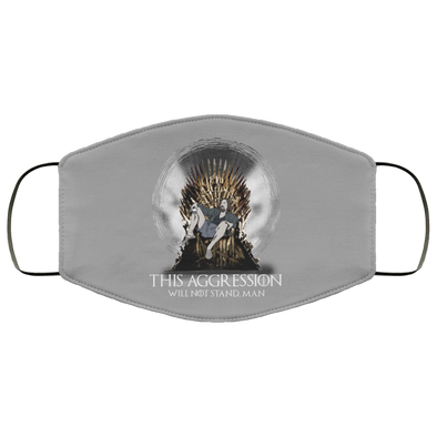 Lebowski Iron Throne Face Mask (ear loops)