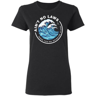 Drinking Claws Ladies Cotton Tee