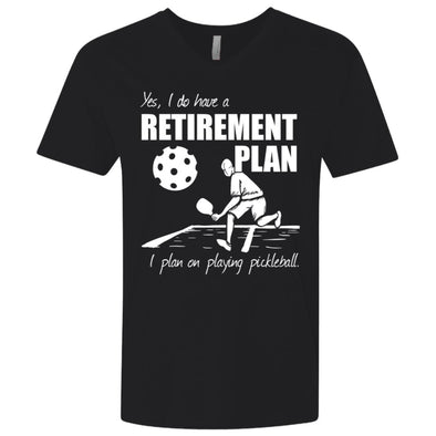 Pickleball Retirement Premium V-Neck