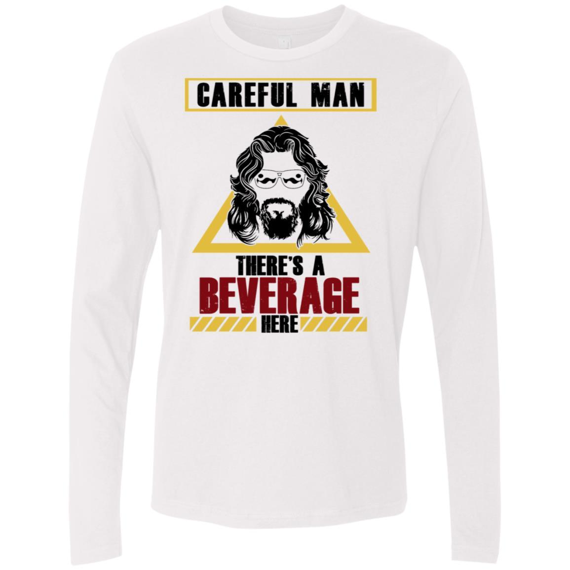Beverage Here 2 Premium Long Sleeve