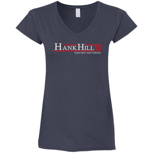 Hank Hill 20 Ladies V-Neck