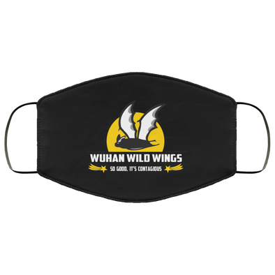 Wuhan Wild Wings Face Mask (ear loops)