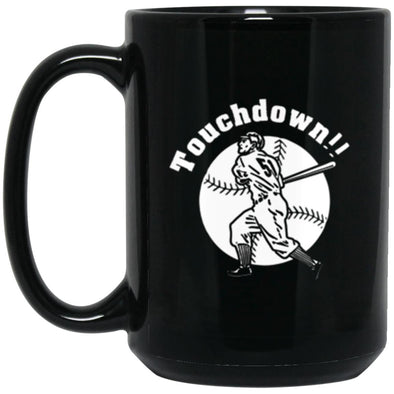 Touchdown Black Mug 15oz (2-sided)