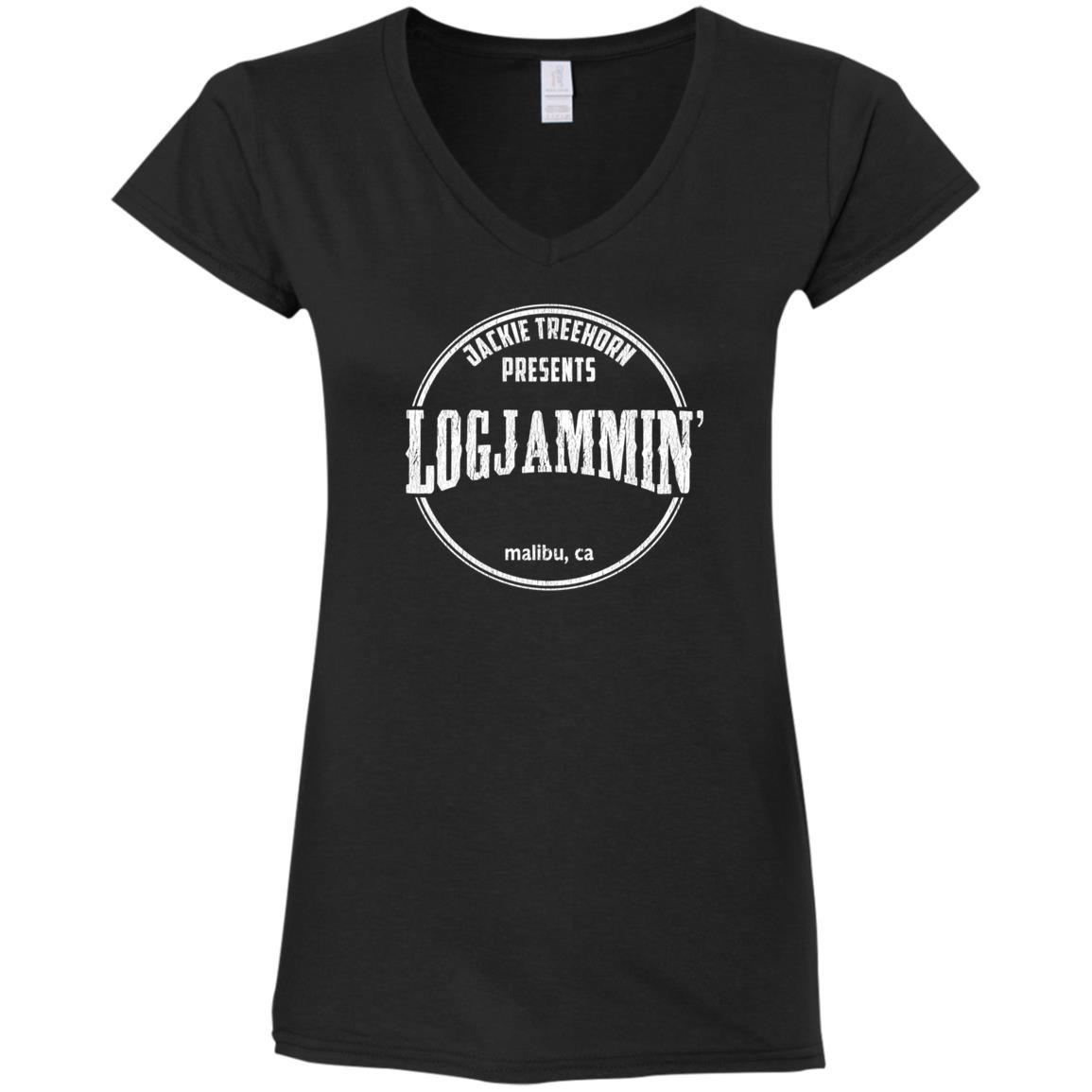 Logjammin' Ladies V-Neck