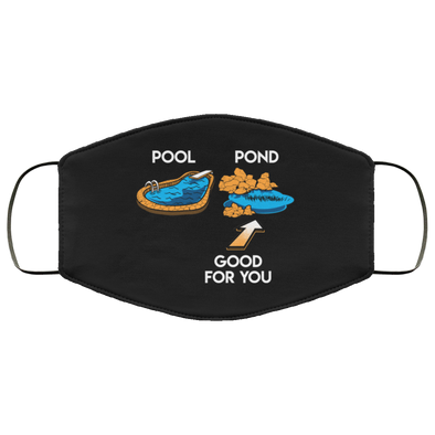 Pool Pond Face Mask (ear loops)
