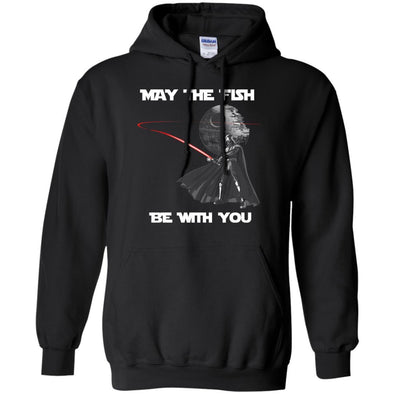 Fish Be With You Hoodie