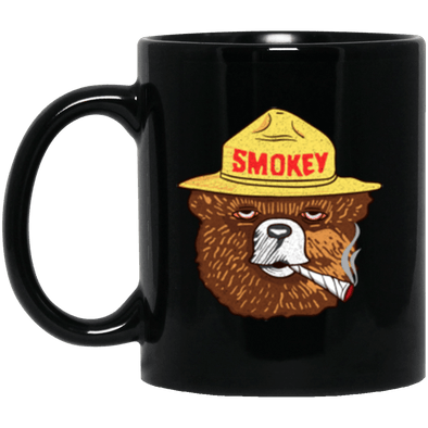 Smokey Black Mug 11oz (2-sided)