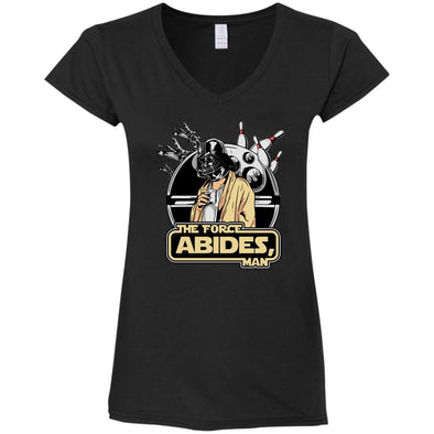The Force Abides Ladies V-Neck