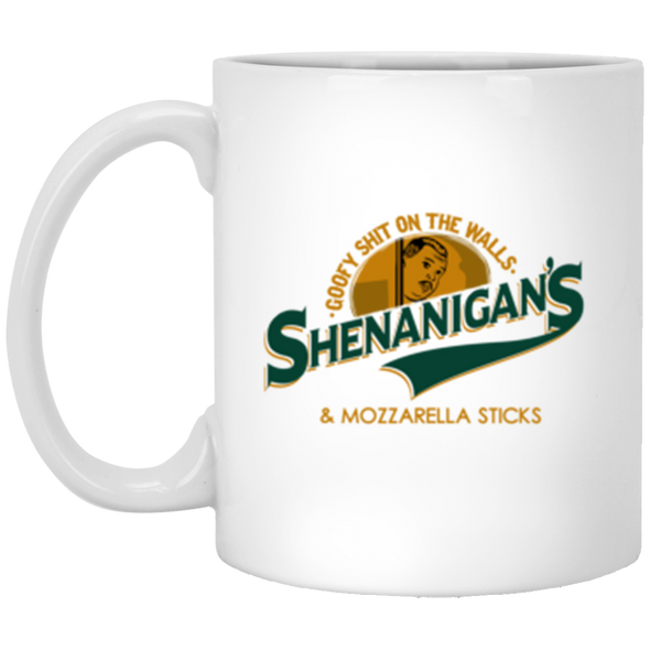 Shenanigans White Mug 11oz (2-sided)