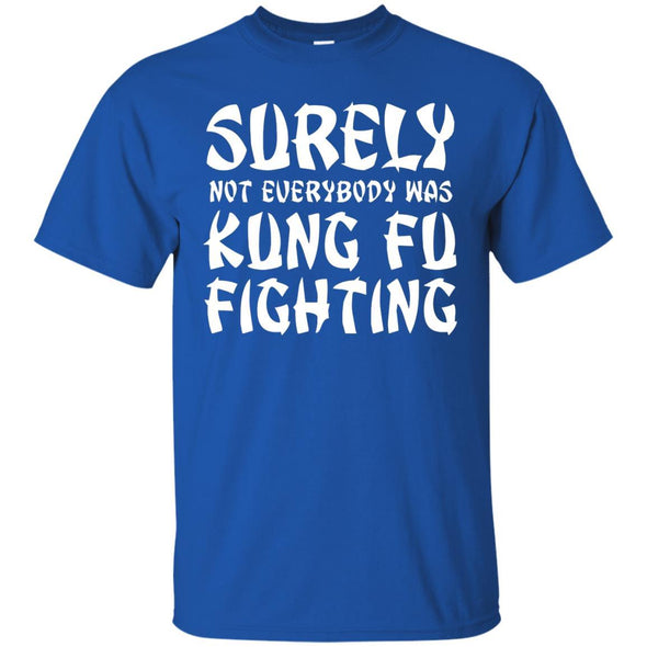 Kung Fu Fighting Heavy Cotton Tee