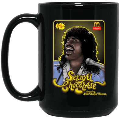 Sexual Chocolate Black Mug 15oz (2-sided)