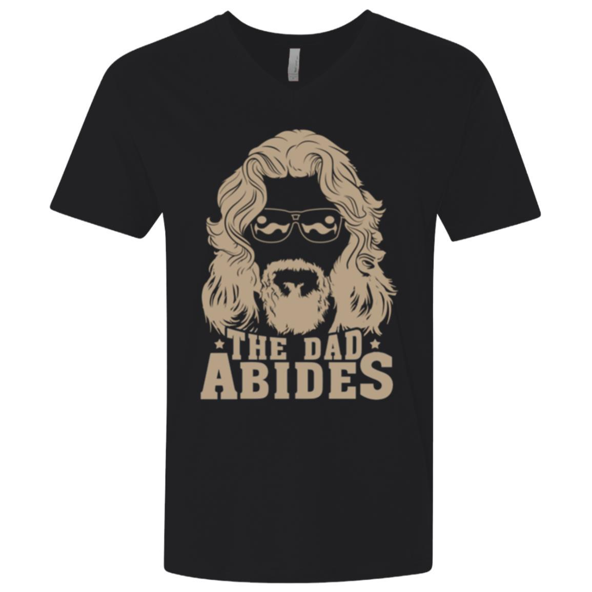 The Dad Abides Premium V-Neck