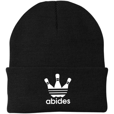 Abides (not Adidas) Winter Hat