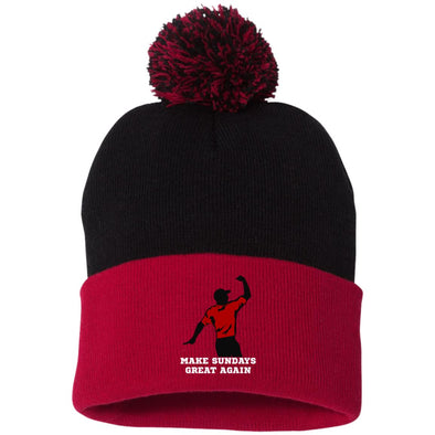Tiger Sundays Winter Hat (pom pom)