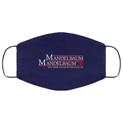 Mandelbaum 2020 Face Mask (ear loops)