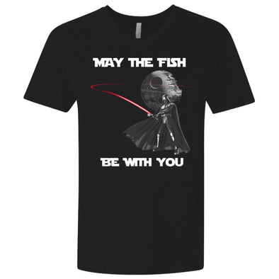 Fish Be With You Premium V-Neck