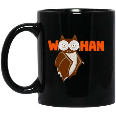 Woohan Black Mug 11oz (2-sided)
