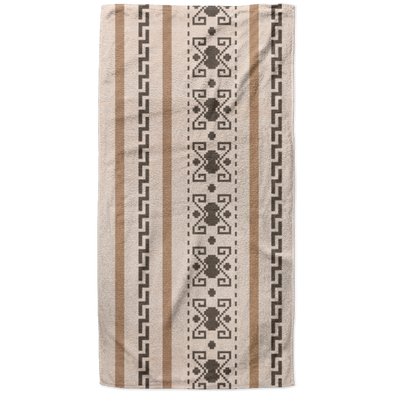 Lebowski Cardigan Pattern  Beach Towel