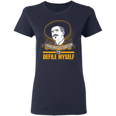 Defile Myself Ladies Tee