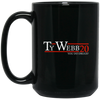 Ty Webb 20 Black Mug 15oz (2-sided)