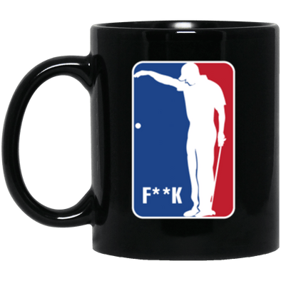 F**K Black Mug 11oz (2-sided)