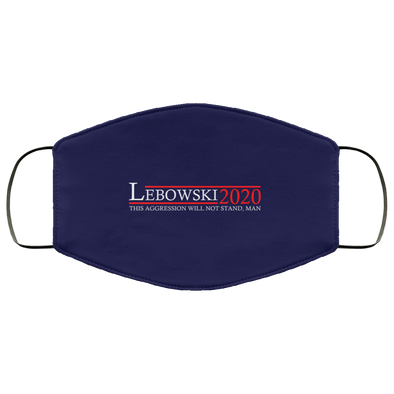 Lebowski 20 Face Mask (ear loops)