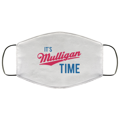 Mulligan Time Face Mask (ear loops)