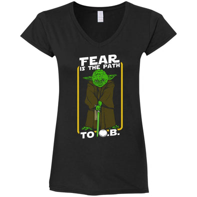 Yoda Golf Ladies V-Neck