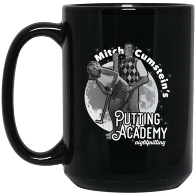Cumstein's Academy Black Mug 15oz (2-sided)