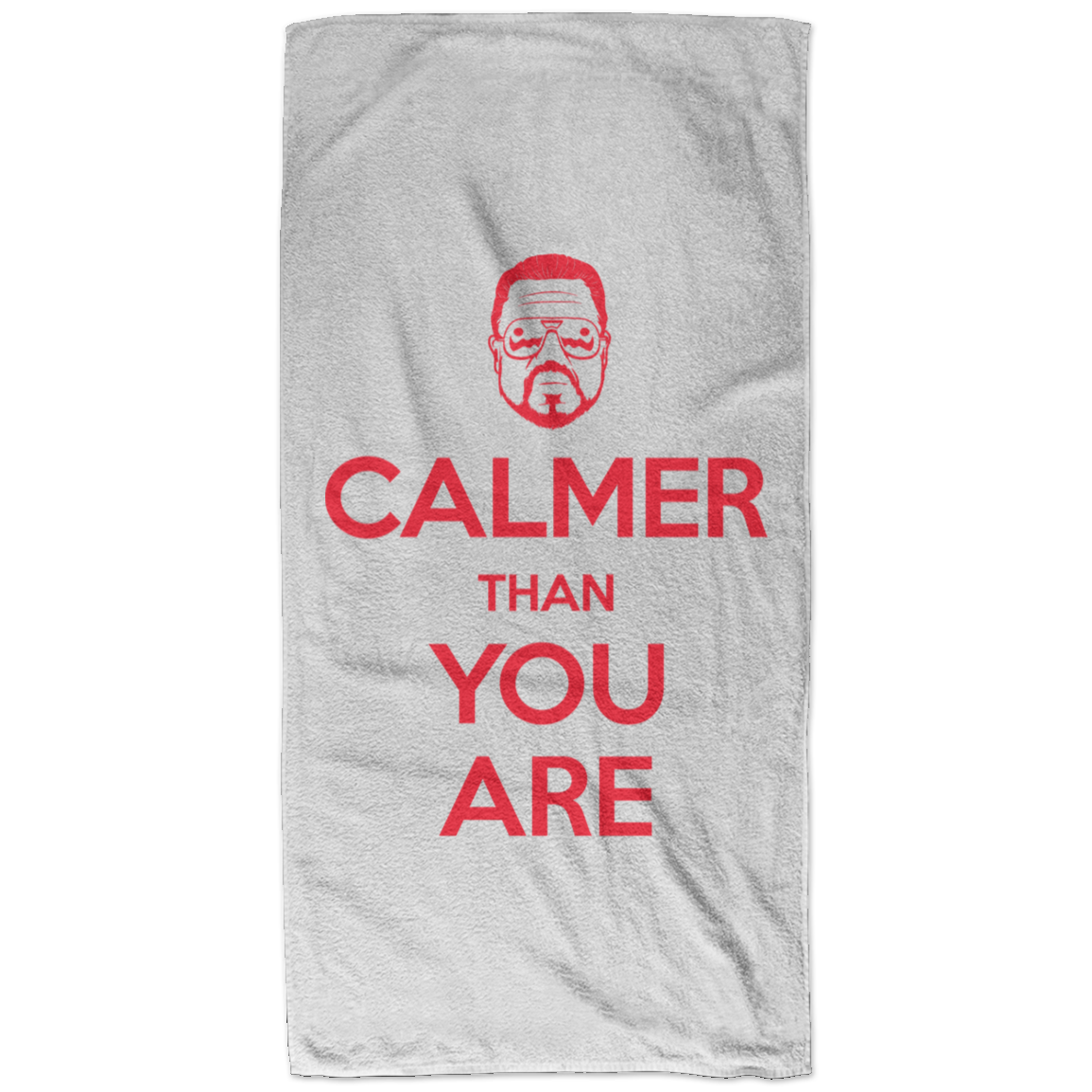 Keep Calmer Bath Towel