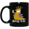 Slug Life Black Mug 11oz (2-sided)