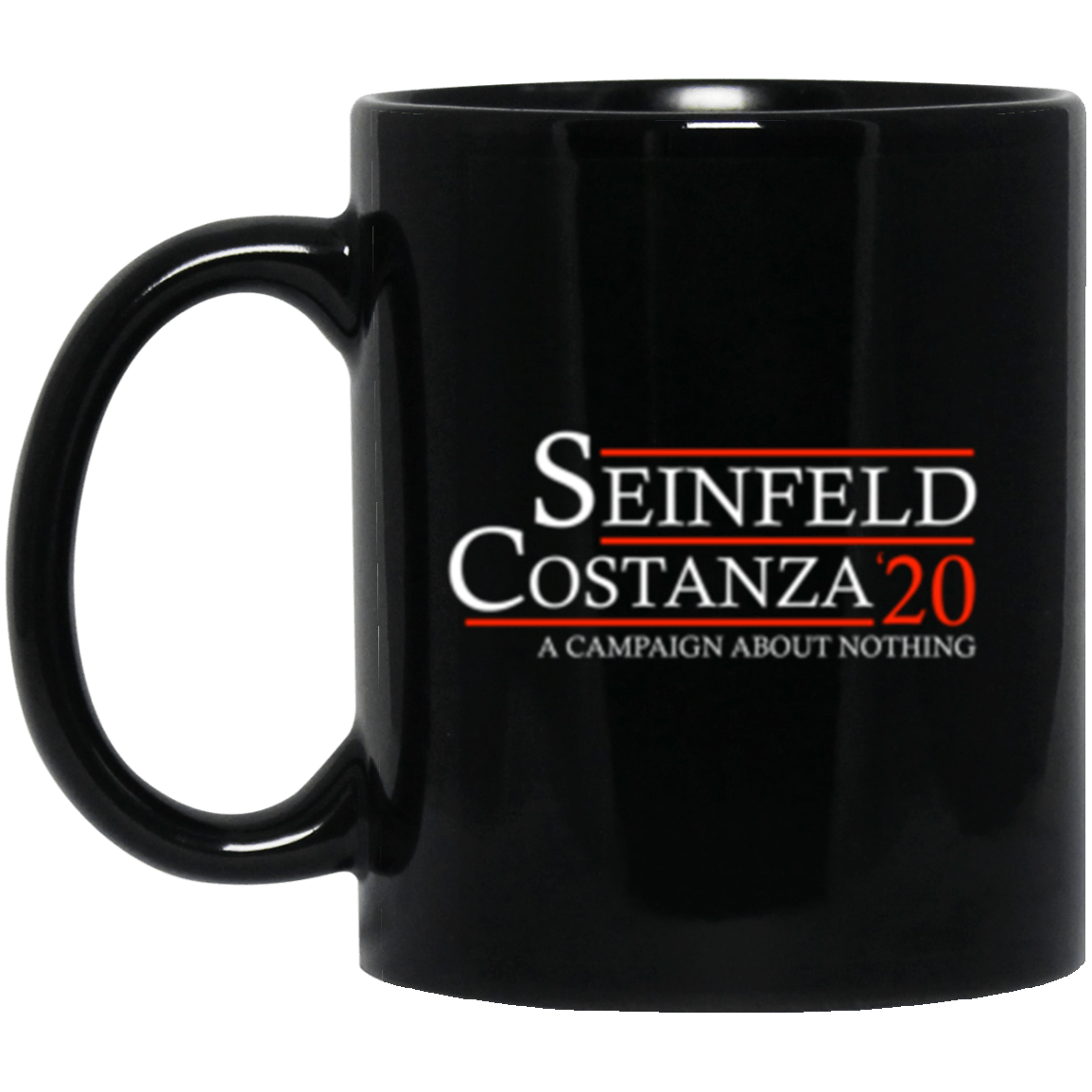 Seinfeld 20 Black Mug 11oz (2-sided)