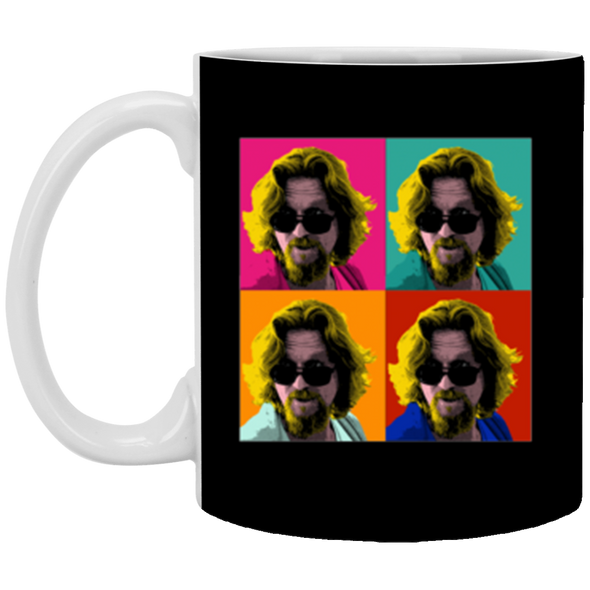 Dude Warhol White Mug 11oz (2-sided)