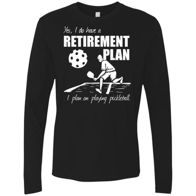 Pickleball Retirement Premium Long Sleeve