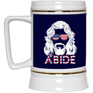 USA Abide Beer Stein 22oz