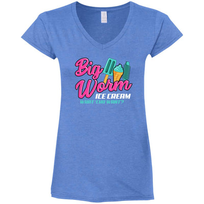 Big Worm Ladies V-Neck