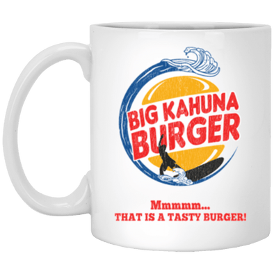 Big Kahuna Burger White Mug 11oz (2-sided)