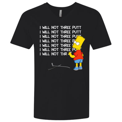 Bart Three Putt Premium V-Neck