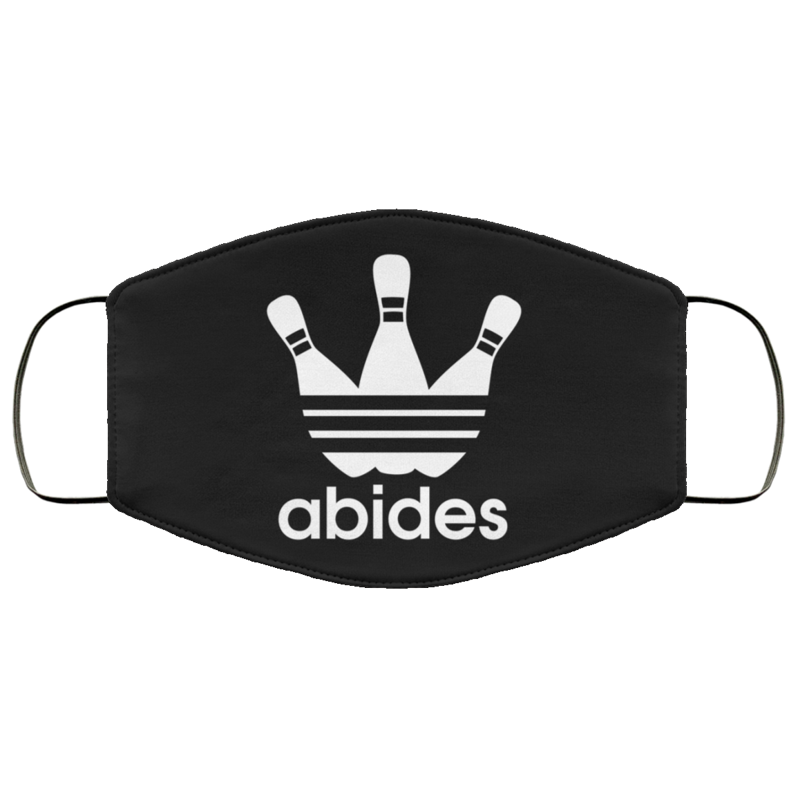 Abides (not Adidas) Face Mask (ear loops)