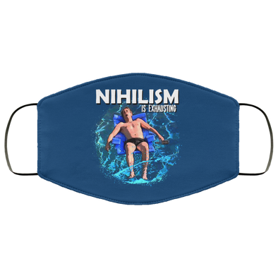 Nihilism Face Mask (ear loops)