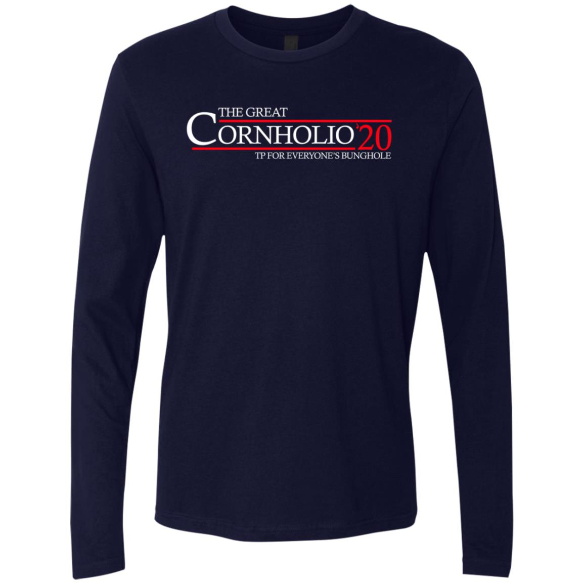 Cornholio 20 Premium Long Sleeve