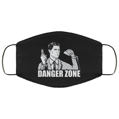 Danger Zone Face Mask (ear loops)